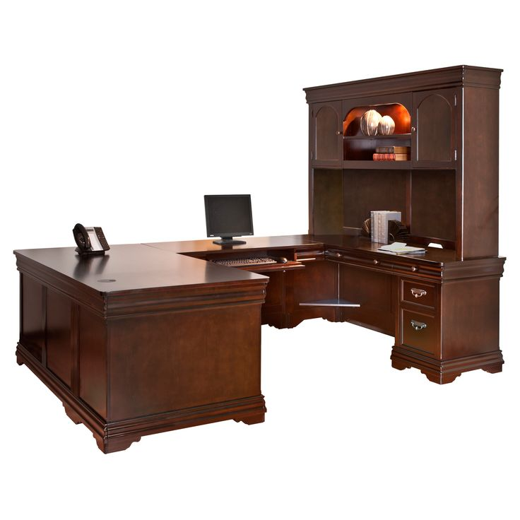 shape hutch shaped merritt lateral file bookcase beautiful bestar u desk and with of inspirational
