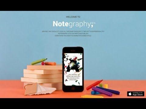 #app #ipad #Notegraphy, notas con estilo en tu iPad