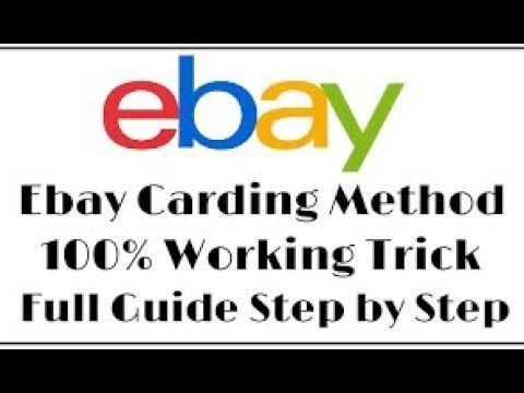 eBAY Carding new Method - 2019 | cardind tutorial | Nintendo