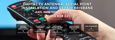 Digital Aerial Installation Brisbane Jon Burfield at Express Antenna Services is a TV antenna and aerial repair and installation specialist in Brisbane. You will get cost effective solutions by us to efficiently fix your installation and repair issues for Television antennas or aerial. You will enjoy uninterrupted entertainment with our TV antenna and aerial repair service in Brisbane. Arrange an appointment today with Jon by giving a call at 0409-908-221.