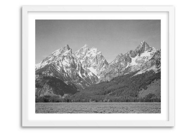 Ansel Adams, Grand Teton; $189 - $289; One Kings Lane