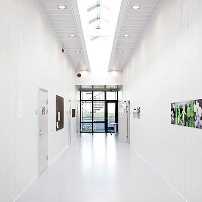 hallway, halden prison, norway