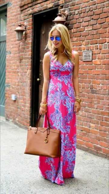 Solid colored summer dresses