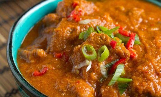 Curry recept pittige vindaloo