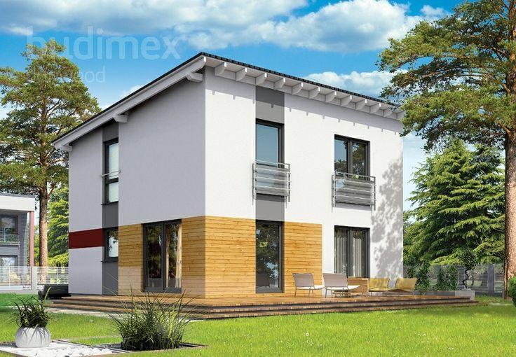 Zweigeschossige Häuser Danwood Park 120P || #hauser #house || http://www.danwood.de/hauser/zweigeschossige/park-120p