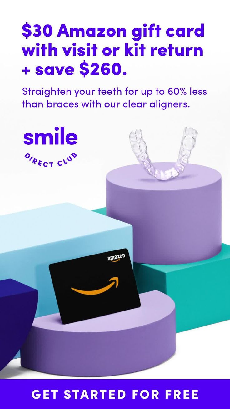 Get 260 off your new smile plus a 30 amazon gift card