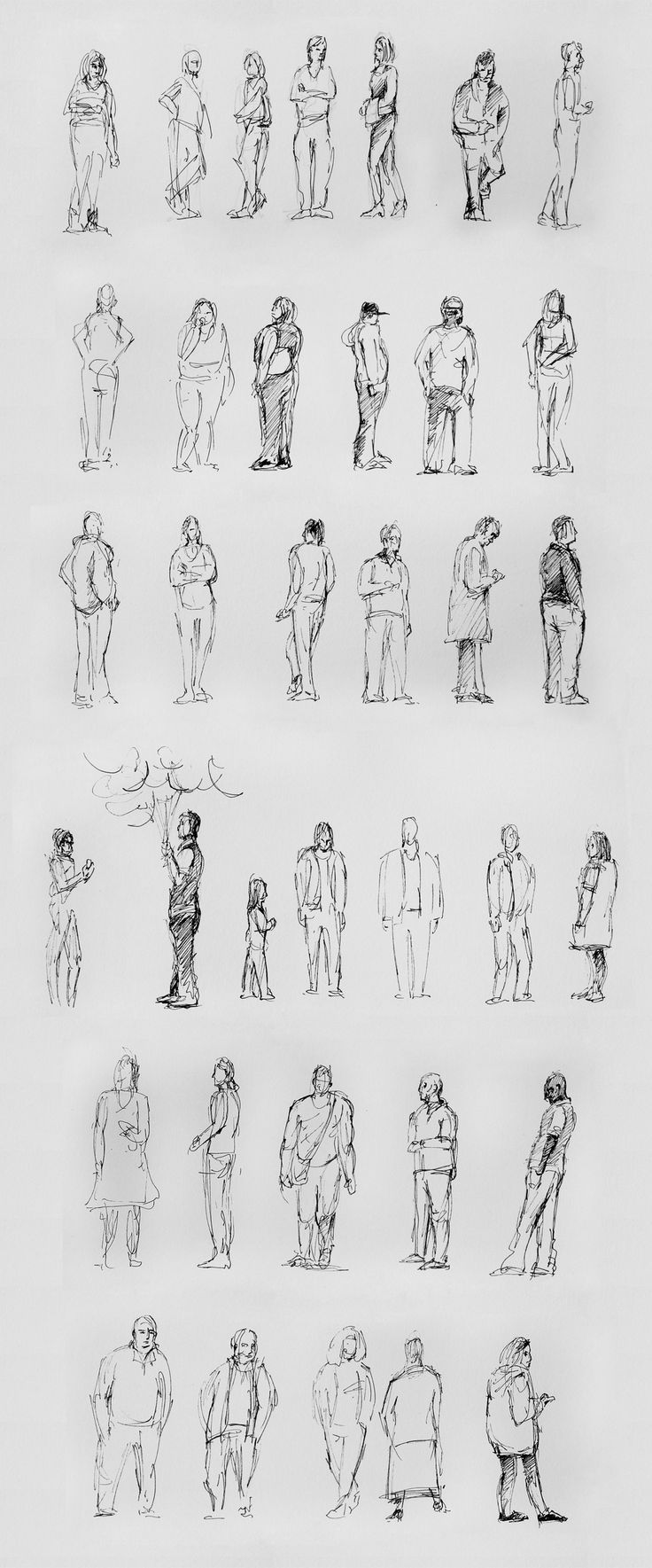 fast drawings of people at Montecasino