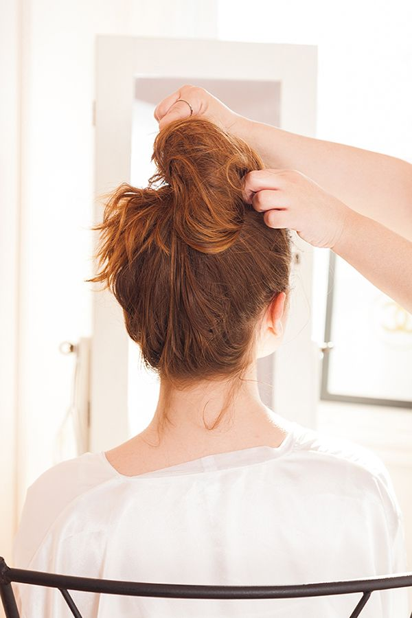 How to get the perfect messy bun