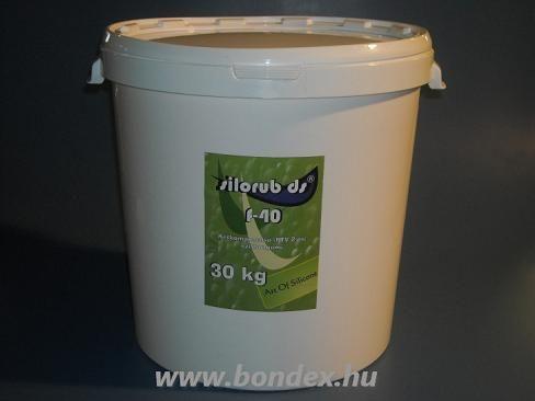 Önthető szilikon Silorub ds F-40 RTV 2  ( 30 kg )
