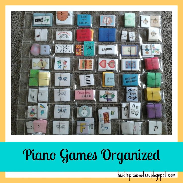 Heidi's Piano Studio: Piano Game Resource List