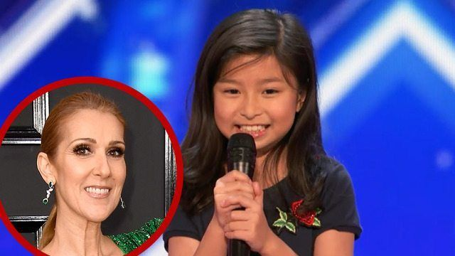 'AGT': Watch a 9-Year-Old Girl Names Celine Dazzle the Judges With 'My Heart Will Go On' Cover