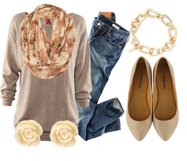 fall floral.Fall Floral, Casual Friday, Fashion, Fall Style, Closets, Clothing, Casual Fall, Fall Outfits, Floral Scarf