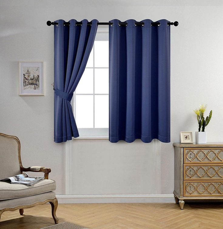 LITTLE BIG LIFE: Isn't this blue blackout curtain just perfect for an RV! Certainly gives privacy. Read more here!