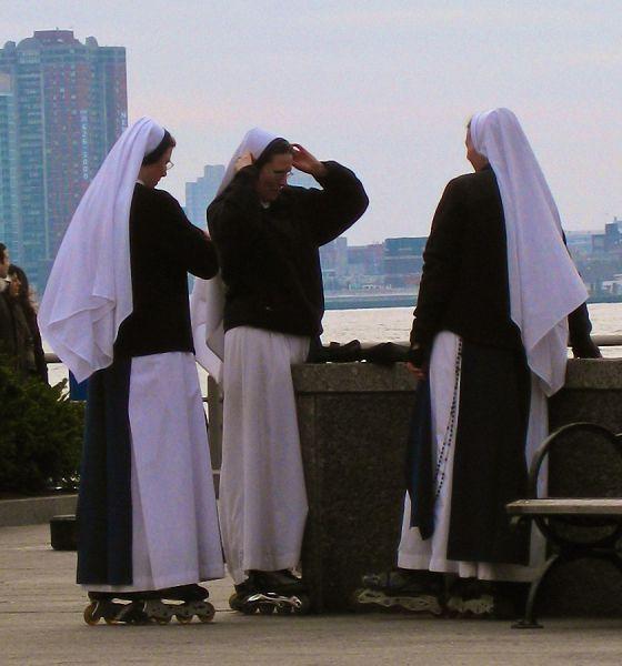 rollerblade nuns