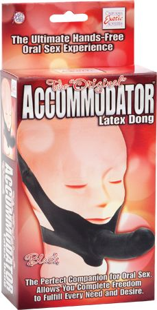 Dongs > Realistic > The Original Accommodator Latex Dong (Black) - www.bunnyleisure.com