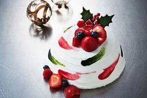 ハイアット リージェンシー 京都のクリスマススイーツ - 苺のケーキや甘さ控え目のシュトーレン