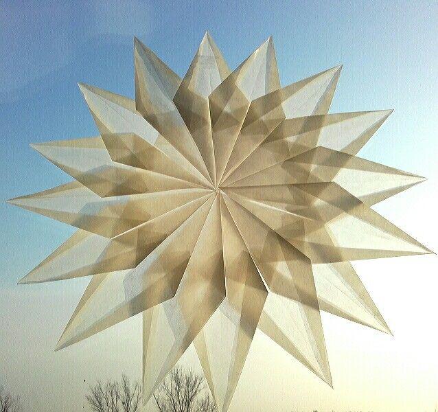 White waldorf star