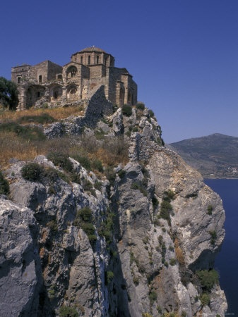 Monemvasia, site of our engagement