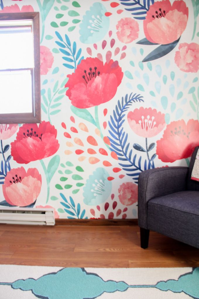 Best 25+ Modern floral wallpaper ideas on Pinterest | Wall papers ...