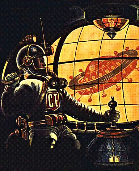 The Vault Of Retro Sci Fi: 45 Best Images About Science Fiction Art On Pinterest