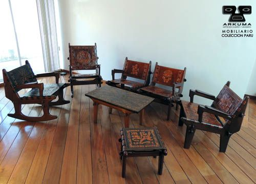 Arkuma   mobiliario. colecciÓn paru. juego de sala. armazón de ...