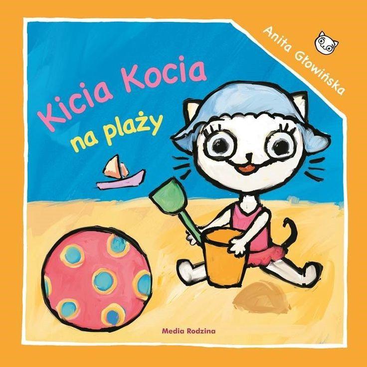 Kicia Kocia na plaży - Wydawnictwo Media Rodzina - Książki, Audiobooki, eBooki