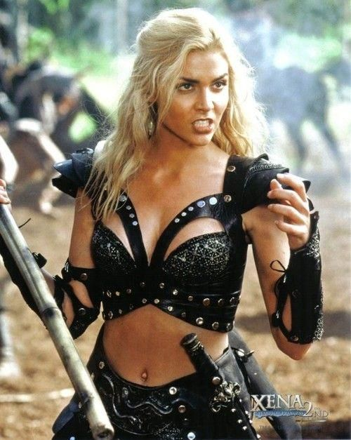 Sexy Black Warrior Costume For Women