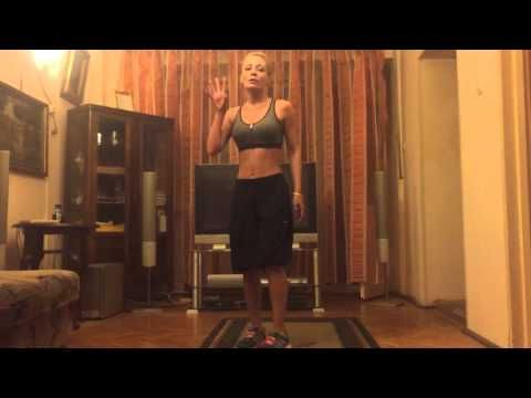 Exerciții 4 minute de încălzire - 4 Min warm up cardio routine - andreeasava.ro - YouTube