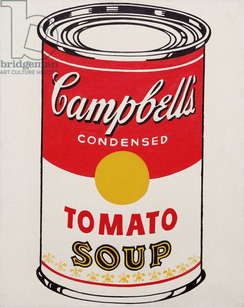 Warhol,Andy.Campbell's Soup Can (Tomato)1962