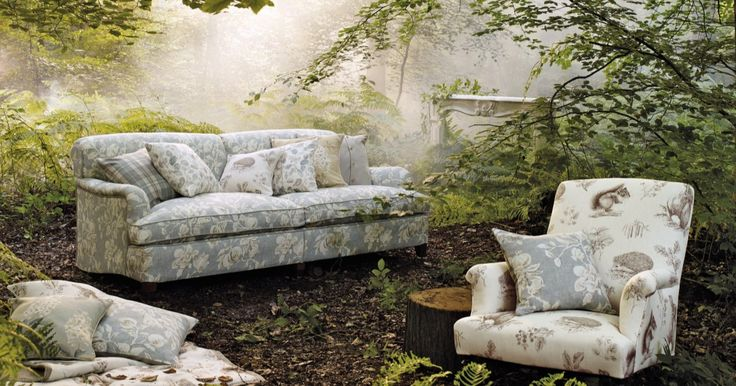 #Naturen kaller! #Tekstiler fra Sanderson, ført av INTAG.