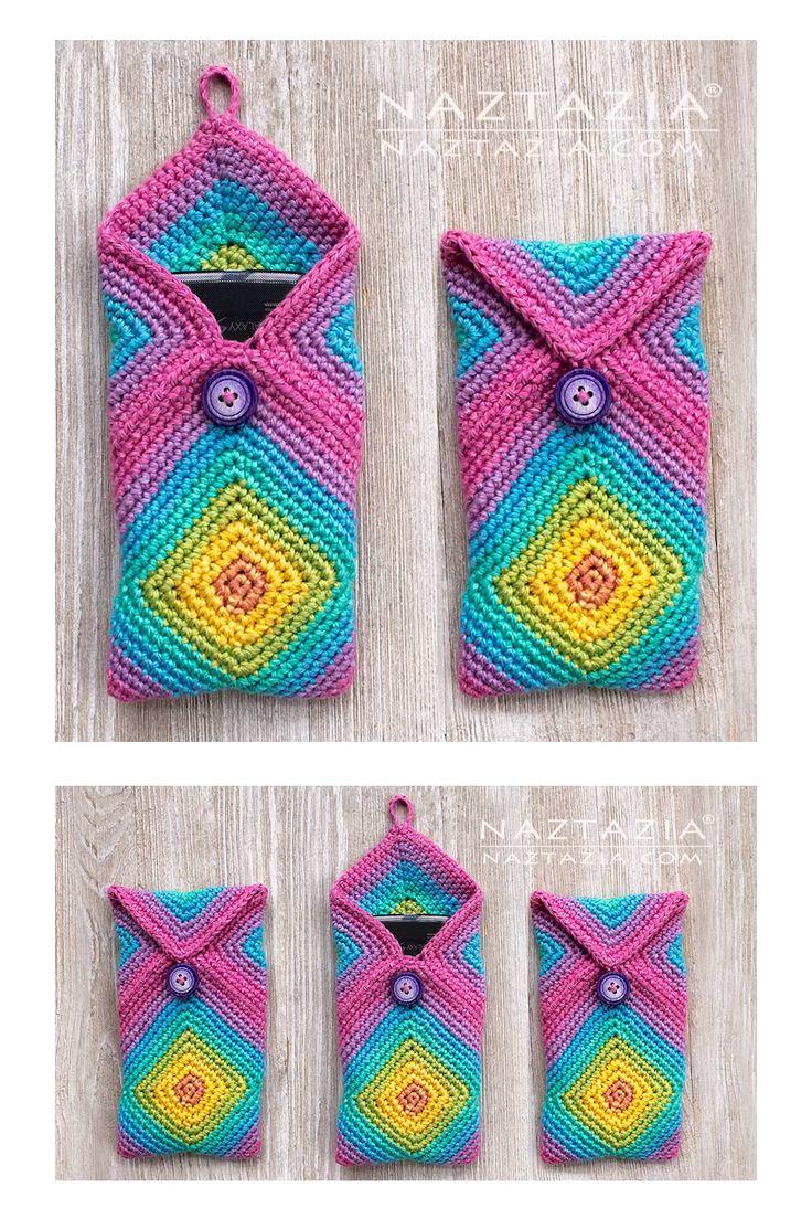 Crochet Chromatic Phone Case