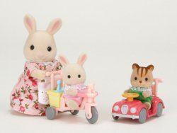 #Epoch #SylvanianFamilies Trójkołowy rower z zabawkami