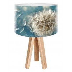 Lampa stołowa mini-trójnóg delikatny Dmuchawiec