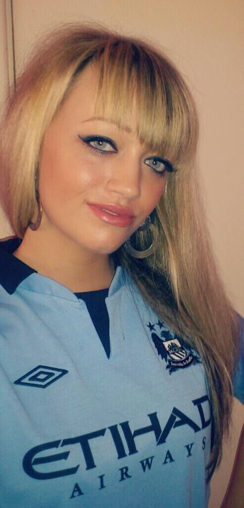 Manchester City girl fan | Manchester City F.C. | Pinterest