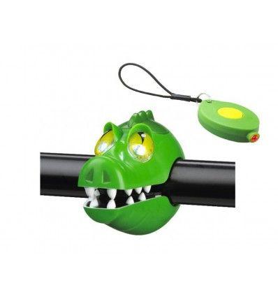 Crazy Safety Zestaw Lampek Rowerowych Krokodyl