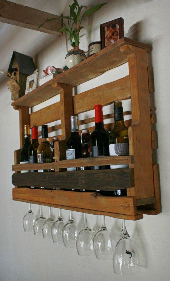 best 25 pallet wine holders ideas on pinterest coffee. Black Bedroom Furniture Sets. Home Design Ideas