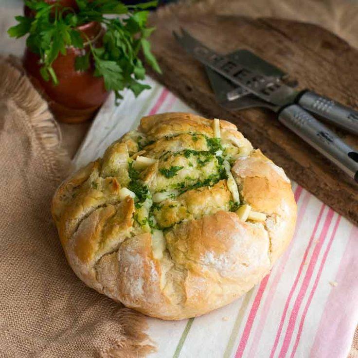 Pan con queso de oveja
