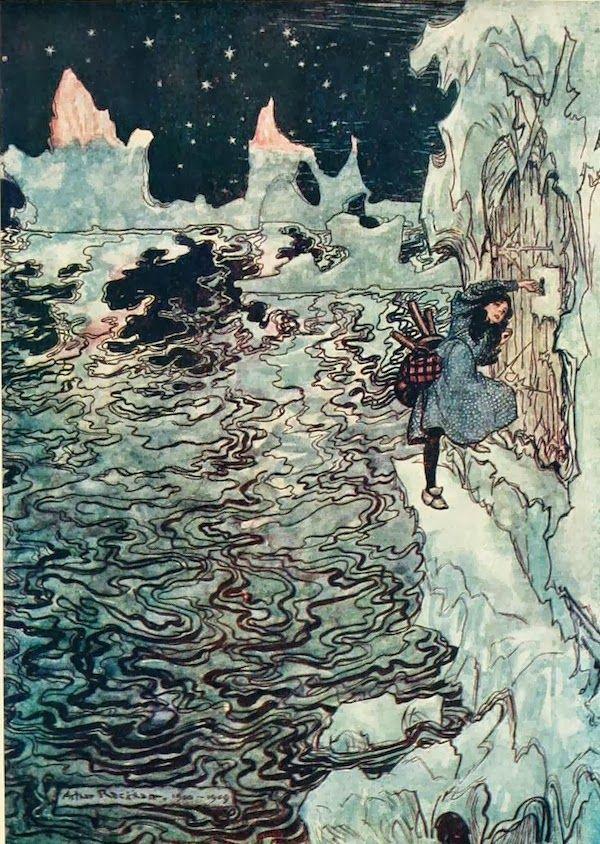 Arthur Rackham Gems: Snow Day