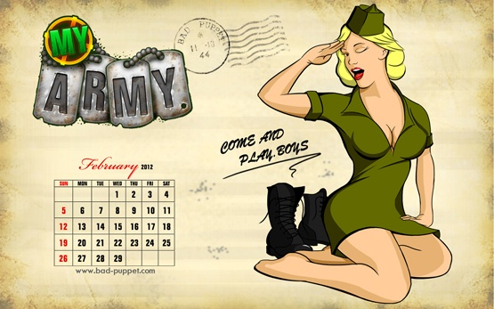 Playful Peggy offers her inspiration for the boys on the front line #MyArmy