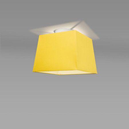 Plafon Ton 30 kwadratowy żółty