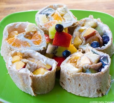 Yummy Fruit Rainbow Wraps. Art Kids Eat! Vegan. - Healthy. Happy. Life.