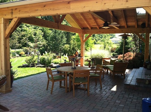 34 best decks patio cover ideas images on pinterest - Backyard Covered Patio Designs