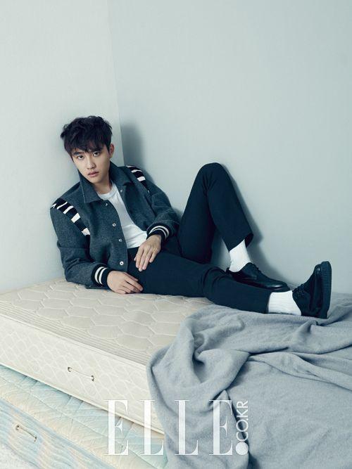 EXO's D.O for ELLE Magazine - December 2014