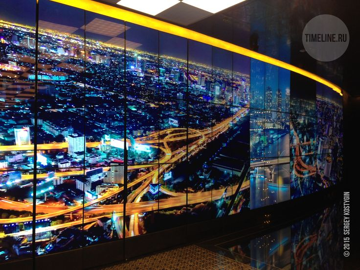 Largest video wall at Leningrad Center  TimeLine, Russian system & video design company, is pleased to announce a significant installation of largest video wall at the Leningrad Center, Saint-Petersburg 's new multi-format entertainment centre.  http://timeline.ru