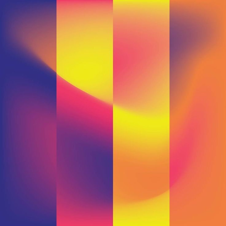 Gradients  #gradients #abstract #visualdesign #graphicdesign #colours #colourful