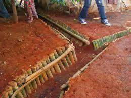 Resultado de imagen para como hacer una zanja  drenaje lluvias