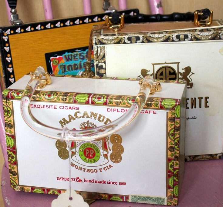 Cigar Box Purses!                                                                                                                                                     More