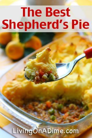 The Best Shepherd's Pie Recipe