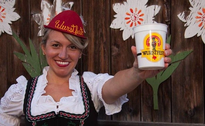 2) Wurstfest in New Braunfels (Nov 6-15) because who wouldn't want to spend 10 days trying craft beer, eating German food, and doing the polka? #SouthernRecipeSmallBatch