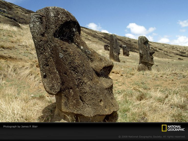 Best easter island heads images on pinterest